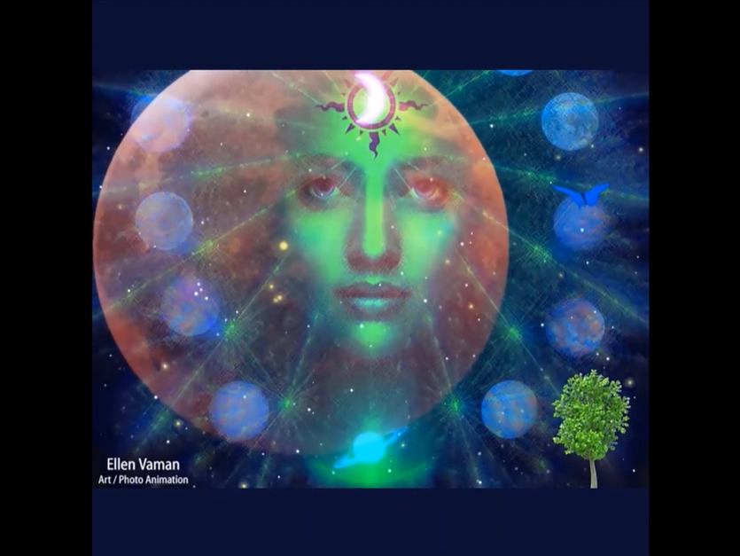 I am free meditation overlay